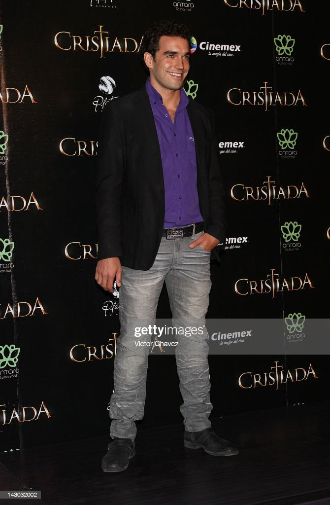 Actor Marcus Ornelas attends the 'For Greater Glory (Cristiada)' Mexico City Premiere at Cinemex Antara Polanco on April 17, 2012 in Mexico City, Mexico.