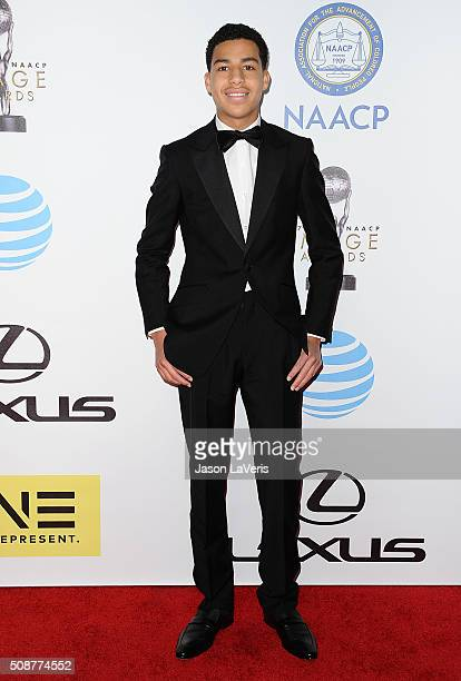 Actor Marcus Scribner attends the 47th NAACP Image Awards at Pasadena Civic Auditorium on February 5 2016 in Pasadena California