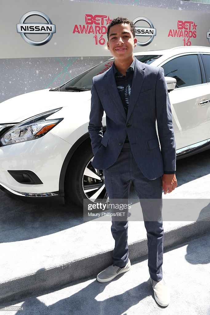 Actor <a gi-track='captionPersonalityLinkClicked' href=/galleries/search?phrase=Marcus+Scribner&family=editorial&specificpeople=12819652 ng-click='$event.stopPropagation()'>Marcus Scribner</a> attends the Nissan red carpet during the 2016 BET Awards at the Microsoft Theater on June 26, 2016 in Los Angeles, California.