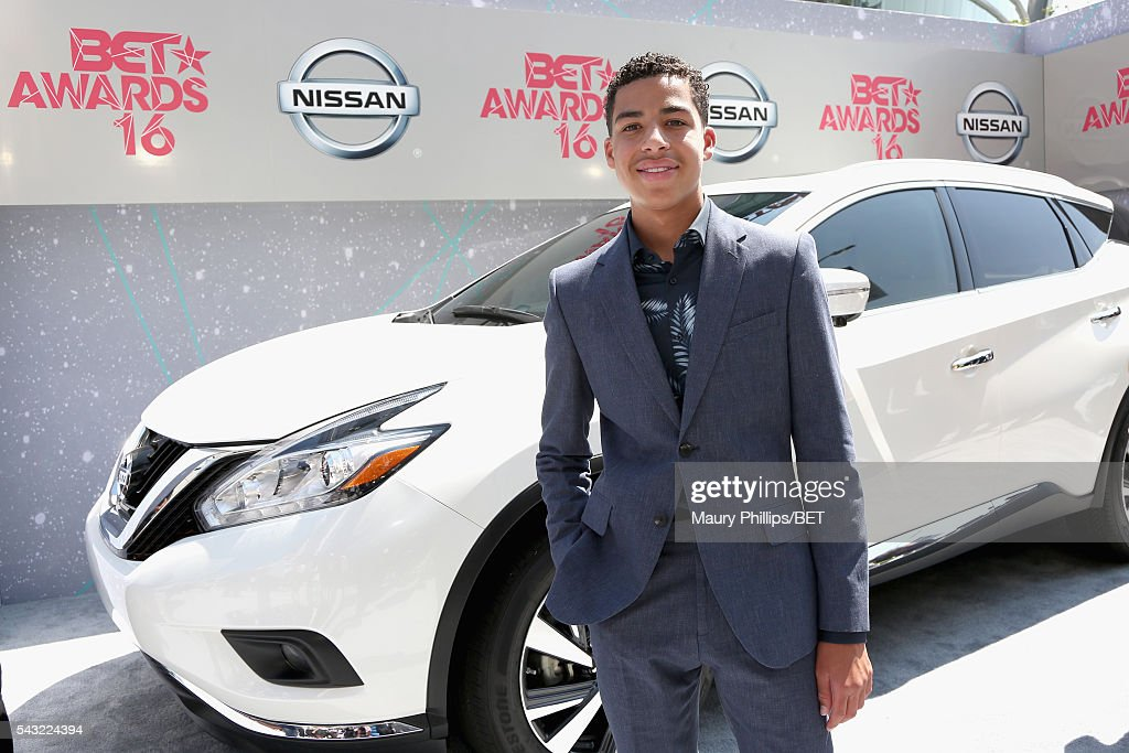 Actor Marcus Scribner attends the Nissan red carpet during the 2016 BET Awards at the Microsoft Theater on June 26, 2016 in Los Angeles, California.