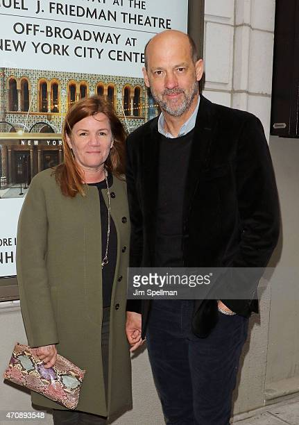 Actor Mare Winningham and Anthony Edwards attend the 'Airline Highway' Broadway opening night at Samuel J Friedman Theatre on April 23 2015 in New...
