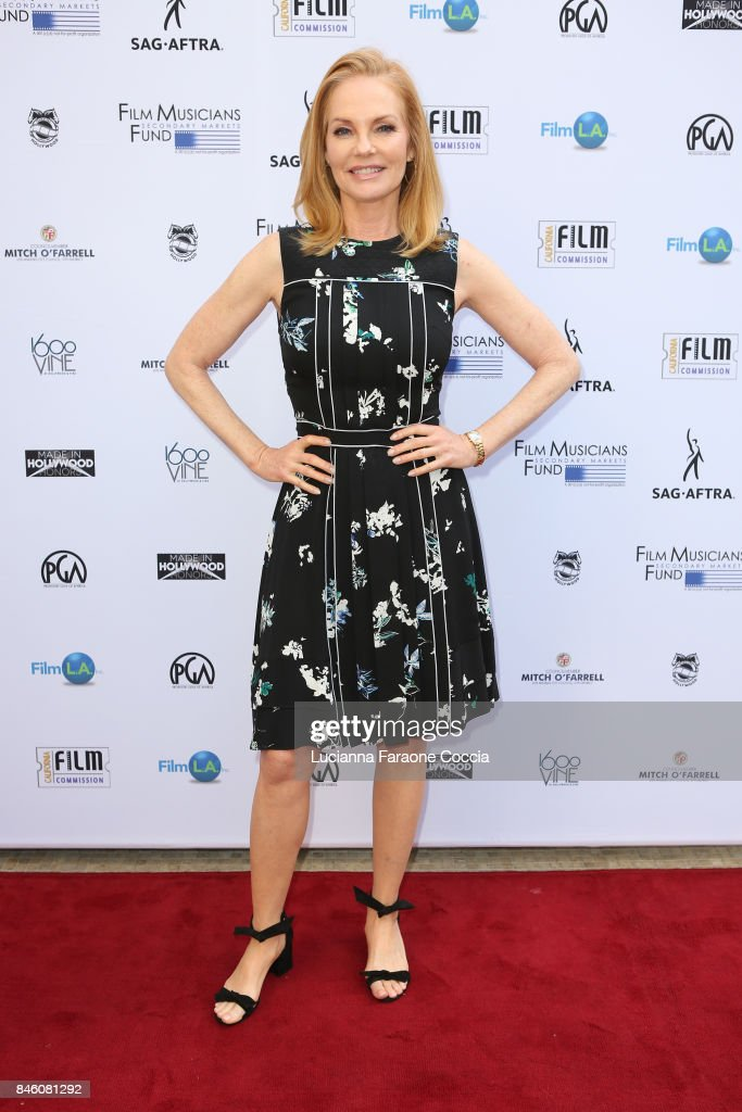 Actor Marg Helgenberger attends the 5th annual Made In Hollywood Honors For Television at 1600 Vine on September 12, 2017 in Hollywood, California.