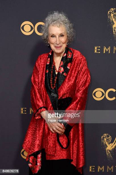 Actor Margaret Atwood attends the 69th Annual Primetime Emmy Awards at Microsoft Theater on September 17 2017 in Los Angeles California