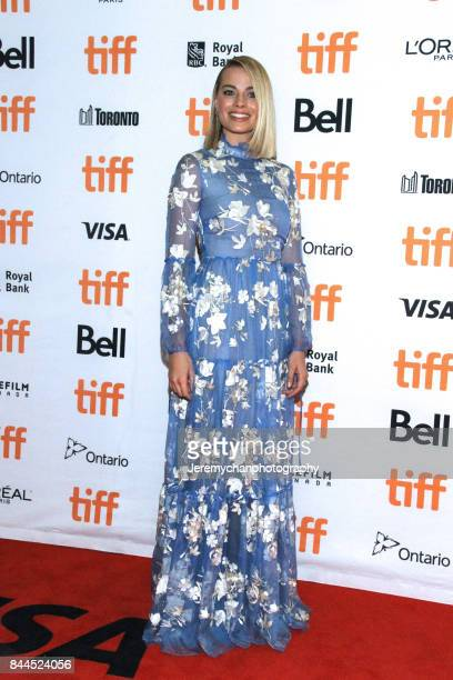 Actor Margot Robbie attends the 'I Tonya' Premiere during the 2017 Toronto International Film Festival held at Princess of Wales Theatre on September...