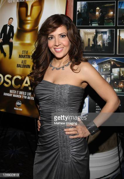 Actor Maria CanalsBarrera at The 15th Annual Art Directors Guild Awards held at The Beverly Hilton hotel on February 5 2011 in Beverly Hills...
