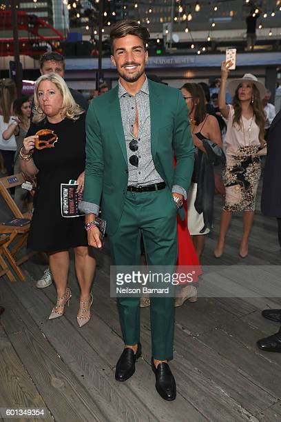 Actor Mariano Di Vaio attends the #TOMMYNOW Women's Fashion Show during New York Fashion Week at Pier 16 on September 9 2016 in New York City