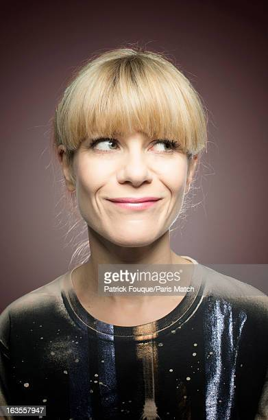Actor Marina Fois is photographed for Paris Match on February 15 2013 in Paris France