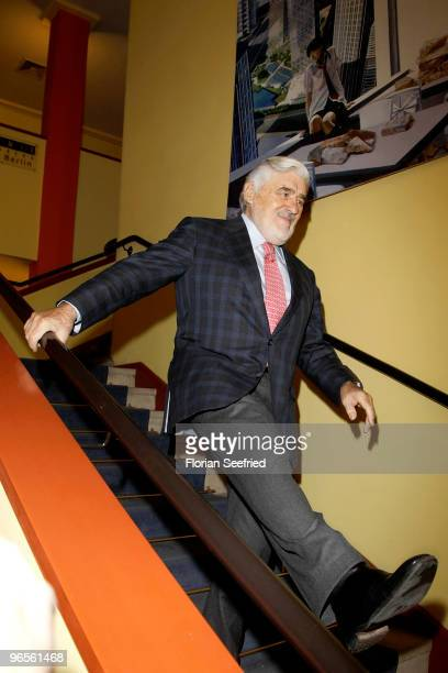 Actor Mario Adorf attends the 'ErnstLubitschAward 2010' at cinema Babylon on February 10 2010 in Berlin Germany