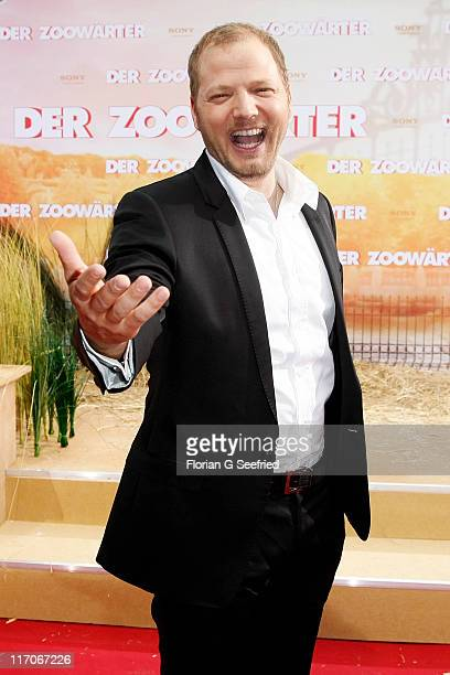 Actor Mario Barth attends the Premiere of 'Zookeeper' at CineStar on June 20 2011 in Berlin Germany