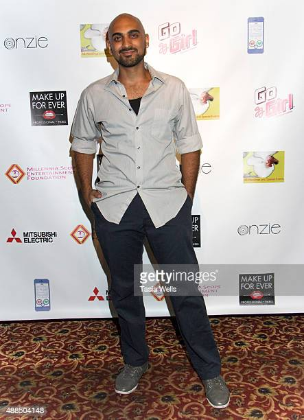 Actor Mario Batres arrives at Premiere Party For 'Liv Out Loud' at Akbar on September 14 2015 in Los Angeles California