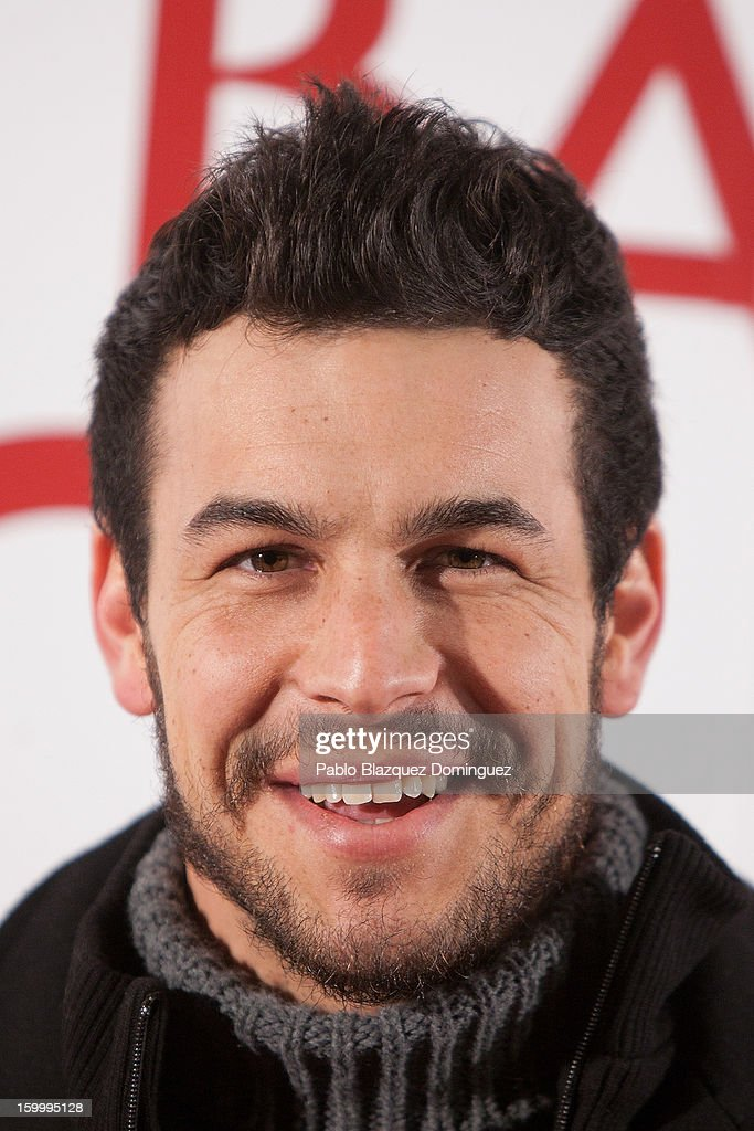 Actor Mario Casa attends 'La Banda Picasso' Premiere at Capitol Cinema on January 24, 2013 in Madrid, Spain.