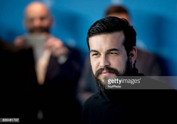 Actor Mario Casas attends the Bar photocall during the 67th Berlinale International Film Festival Berlin at Grand Hyatt Hotel on February 15 2017 in...