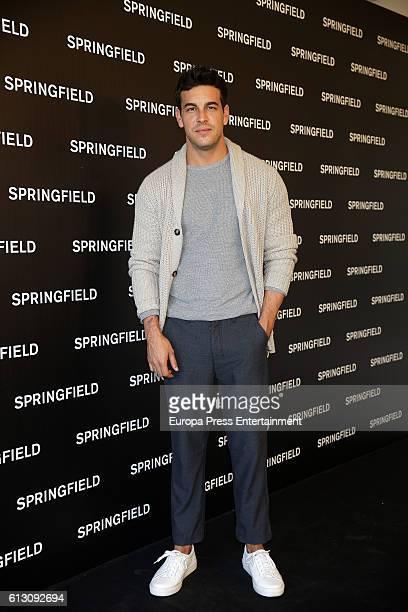 Actor Mario Casas presents Springfield Christmas Commercial at Club Allard on October 6 2016 in Madrid Spain