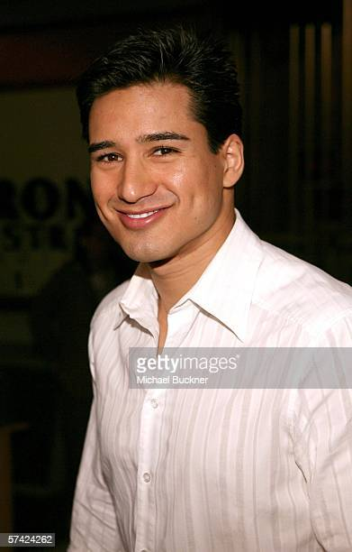 Actor Mario Lopez attends 'The Bold and The Beautiful' five years of Spanish Simulcast celebration at the CBS Studios on April 25 2006 in Los Angeles...