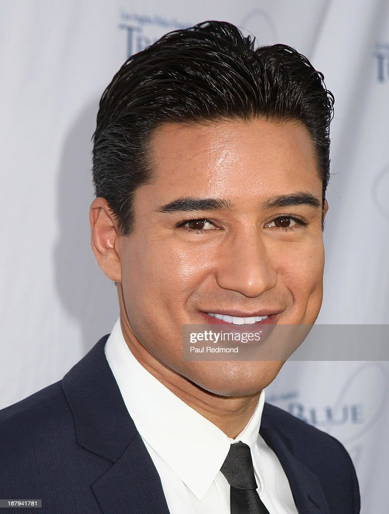 Actor Mario Lopez attends The Los Angeles Police Foundation's 15th Anniversary True Blue Gala at Paramount Studios on May 2 2013 in Hollywood...