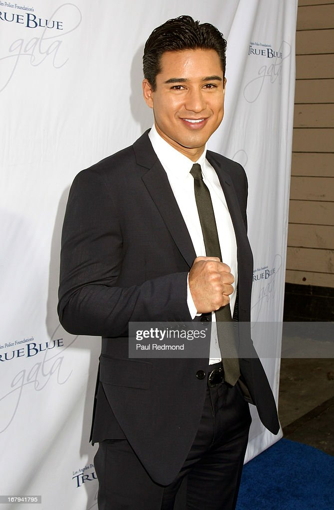 Actor Mario Lopez attends The Los Angeles Police Foundation's 15th Anniversary True Blue Gala at Paramount Studios on May 2, 2013 in Hollywood, California.