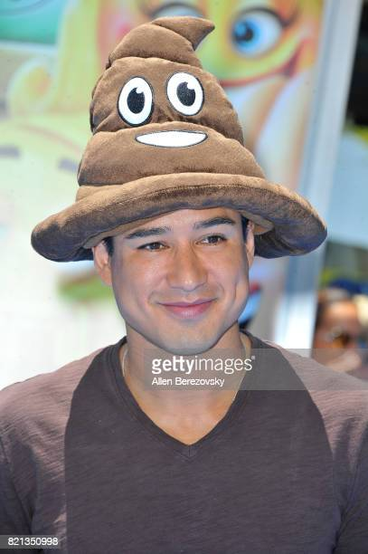 Actor Mario Lopez attends the premiere of Columbia Pictures and Sony Pictures Animation's 'The Emoji Movie' at Regency Village Theatre on July 23...