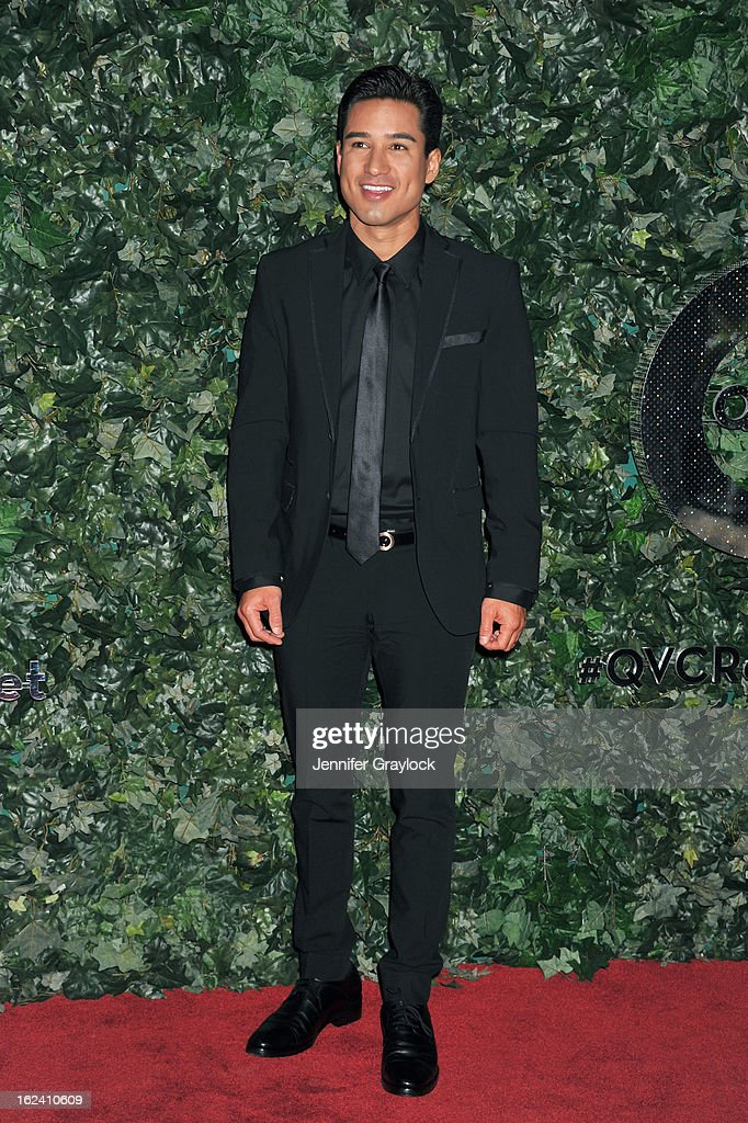 Actor Mario Lopez attends the QVC Red Carpet Style Party held at Four Seasons Hotel Los Angeles at Beverly Hills on February 22, 2013 in Beverly Hills, California.