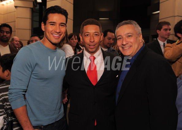 Actor Mario Lopez Boys And Girls Club Of America Vp Frank Sanchez