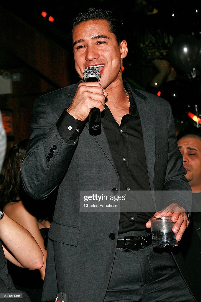 Actor Mario Lopez hosts Joonbug's New Years Eve party at Marquee on December 31 2008 in New York City