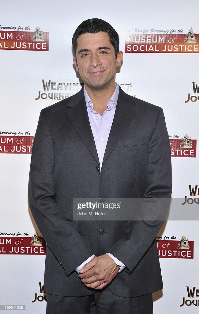 Actor Mario Prado attends the screening of 'Weaving The Past: Journey Of Discovery' at the Linwood Dunn Theater at the Pickford Center for Motion Study on May 18, 2013 in Hollywood, California.