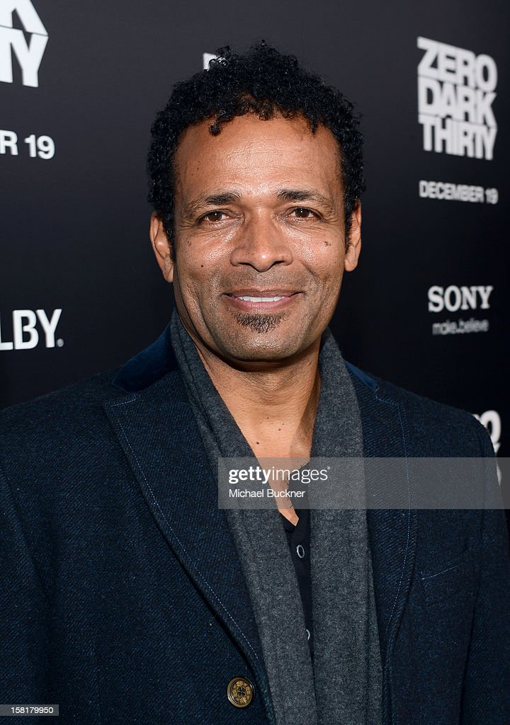 Actor Mario Van Peebles arrives at the Los Angeles premiere of Columbia Pictures' 'Zero Dark Thirty' at Dolby Theatre on December 10, 2012 in Hollywood, California.