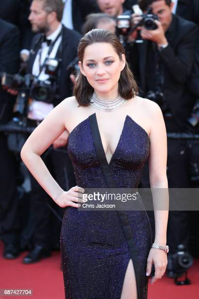 Actor Marion Cotillard attends the 70th Anniversary of the 70th annual Cannes Film Festival at Palais des Festivals on May 23 2017 in Cannes France