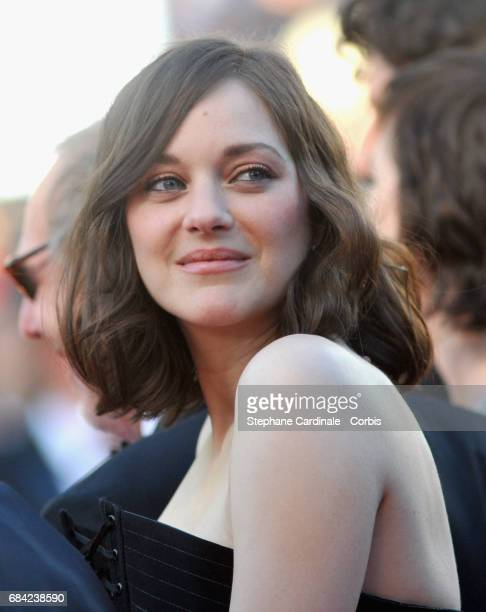 Actor Marion Cotillard attends the 'Ismael's Ghosts ' screening and Opening Gala during the 70th annual Cannes Film Festival at Palais des Festivals...