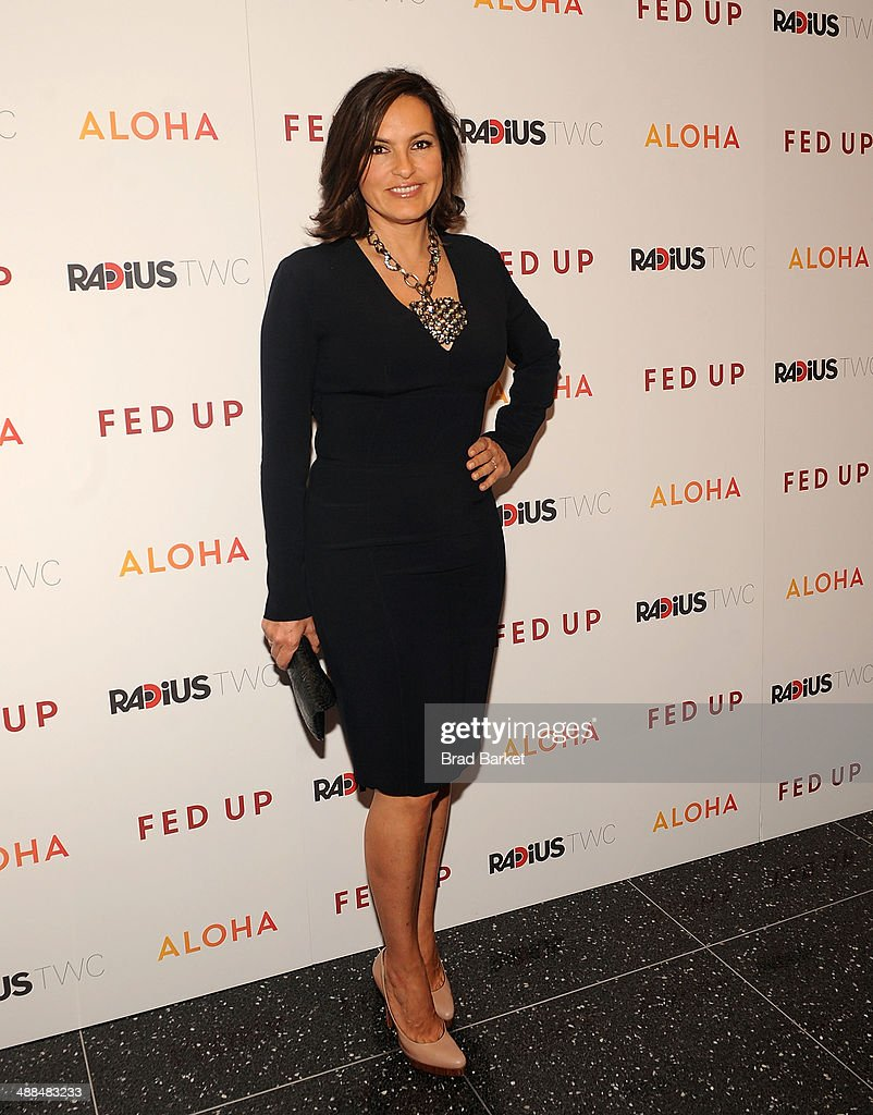 Actor <a gi-track='captionPersonalityLinkClicked' href=/galleries/search?phrase=Mariska+Hargitay&family=editorial&specificpeople=204727 ng-click='$event.stopPropagation()'>Mariska Hargitay</a> attends 'Fed Up' premiere at Museum of Modern Art on May 6, 2014 in New York City.