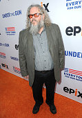 Actor Mark Boone Jr attends the 'Under The Gun' LA premiere featuring Katie Couric and Stephanie Soechtig at Samuel Goldwyn Theater on May 3 2016 in...
