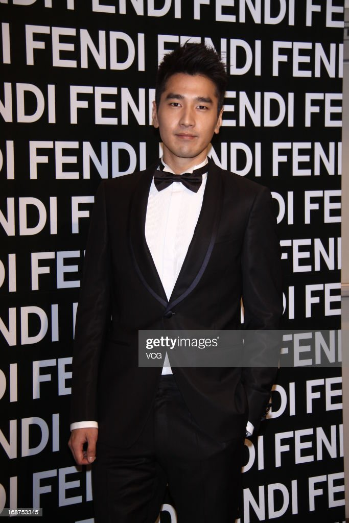 Actor Mark Chao attends Fendi store opening ceremony at Taipei 101 on May 14, 2013 in Taipei, Taiwan.