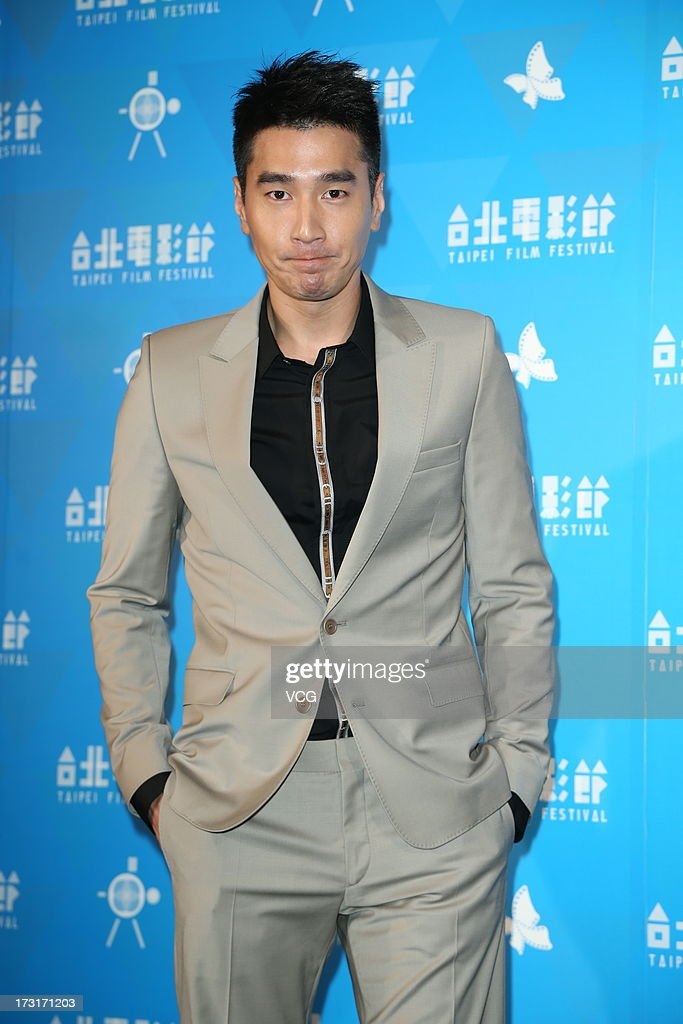 Actor Mark Chao attends 'So Young' press conference at Garden Hotel on July 9, 2013 in Taipei, Taiwan.