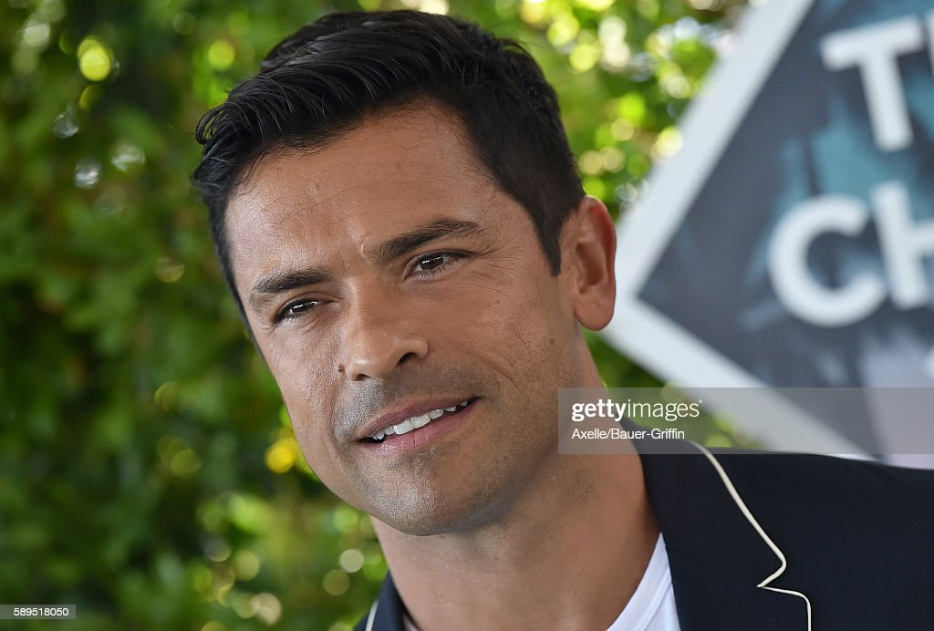 Actor Mark Consuelos arrives at the Teen Choice Awards 2016 at The Forum on July 31 2016 in Inglewood California