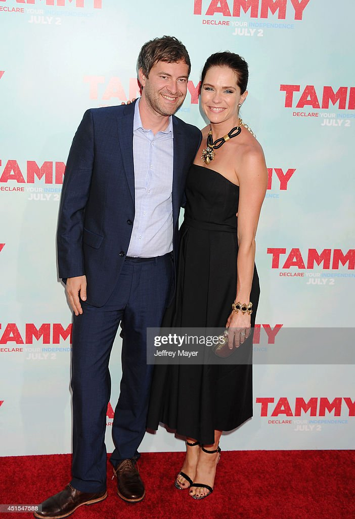 Actor <a gi-track='captionPersonalityLinkClicked' href=/galleries/search?phrase=Mark+Duplass&family=editorial&specificpeople=572703 ng-click='$event.stopPropagation()'>Mark Duplass</a> (L) and actress/wife <a gi-track='captionPersonalityLinkClicked' href=/galleries/search?phrase=Katie+Aselton&family=editorial&specificpeople=6457083 ng-click='$event.stopPropagation()'>Katie Aselton</a> arrive at the 'Tammy' - Los Angeles Premiere at TCL Chinese Theatre on June 30, 2014 in Hollywood, California.