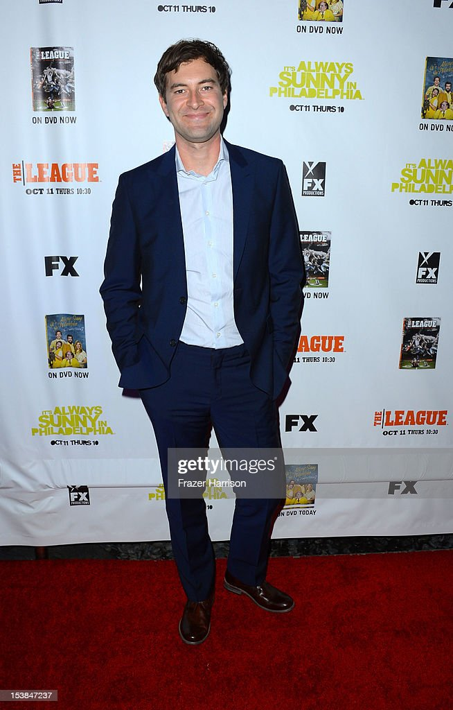 Actor Mark Duplass arrives at the Premiere Screenings of FX's 'It's Always Sunny In Philadelphia' Season 8 and 'The League' Season 4 at ArcLight Cinemas Cinerama Dome on October 9, 2012 in Hollywood, California.
