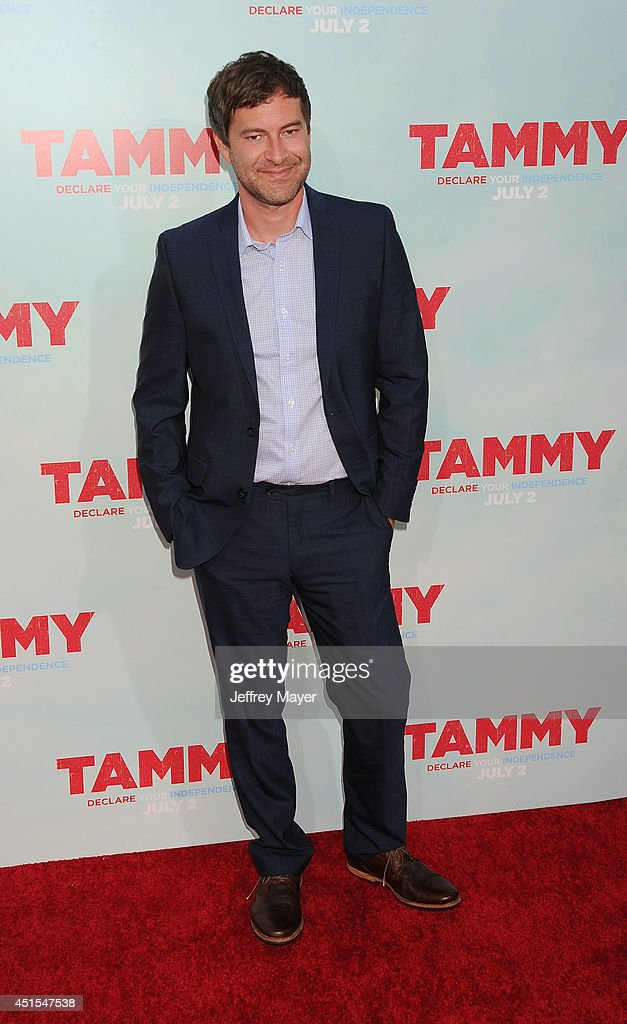 Actor <a gi-track='captionPersonalityLinkClicked' href=/galleries/search?phrase=Mark+Duplass&family=editorial&specificpeople=572703 ng-click='$event.stopPropagation()'>Mark Duplass</a> arrives at the 'Tammy' - Los Angeles Premiere at TCL Chinese Theatre on June 30, 2014 in Hollywood, California.