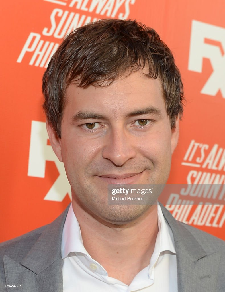 Actor <a gi-track='captionPersonalityLinkClicked' href=/galleries/search?phrase=Mark+Duplass&family=editorial&specificpeople=572703 ng-click='$event.stopPropagation()'>Mark Duplass</a> arrives for the premiere and launch party for FXX Network's 'It's Always Sunny In Philadelphia' and 'The League' at Lure on September 3, 2013 in Hollywood, California.