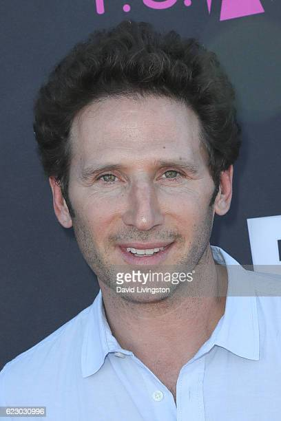 Actor Mark Feuerstein arrives at the PS ARTS' Express Yourself 2016 at Barker Hangar on November 13 2016 in Santa Monica California