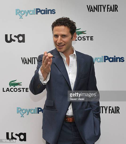 Actor Mark Feuerstein of USA Network's 'Royal Pains' attends the 'Royal Pains Summer Shirt Exchange' benefitting 'Doctors Without Borders' in Greeley...