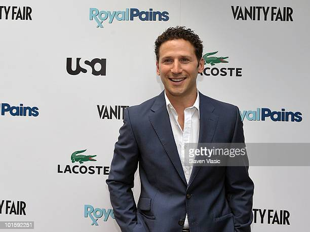 Actor Mark Feuerstein of USA Network's 'Royal Pains' attends the 'Royal Pains Summer Shirt Exchange' to benefit 'Doctors Without Borders' in Greeley...