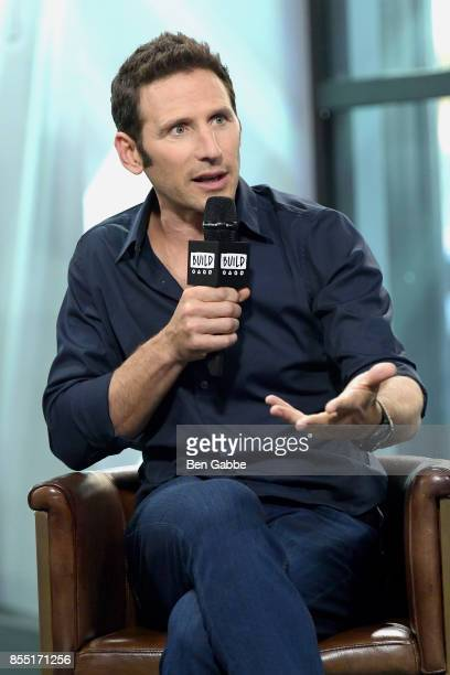 Actor Mark Feuerstein visits the Build Series to discuss his new show '9JKL' at Build Studio on September 28 2017 in New York City