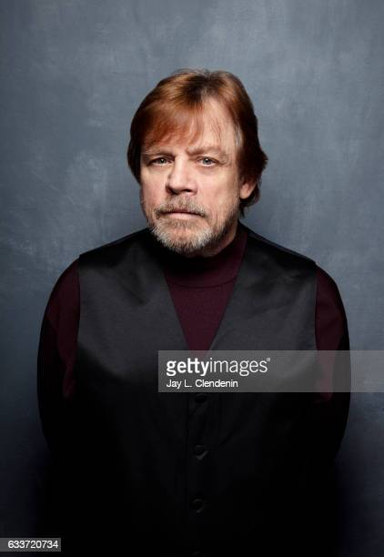 Actor Mark Hamil from the film Brigsby Bear is photographed at the 2017 Sundance Film Festival for Los Angeles Times on January 24 2017 in Park City...