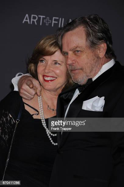 Actor Mark Hamill and Marilou York attend the 2017 LACMA Art Fim Gala in Los Angeles California