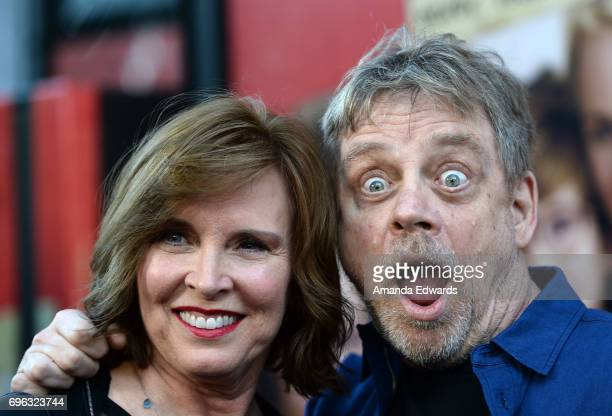 Actor Mark Hamill and Marilou York attend the opening night premiere of Focus Features' 'The Book of Henry' during the 2017 Los Angeles Film Festival...