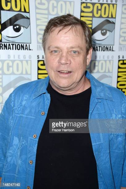 Actor Mark Hamill attends 'Stan Lee's World of Heroes' during ComicCon International 2012 held at the Hilton San Diego Bayfront Hotel on July 12 2012...
