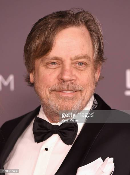 Actor Mark Hamill attends the 2017 LACMA Art Film Gala Honoring Mark Bradford And George Lucas at LACMA on November 4 2017 in Los Angeles California