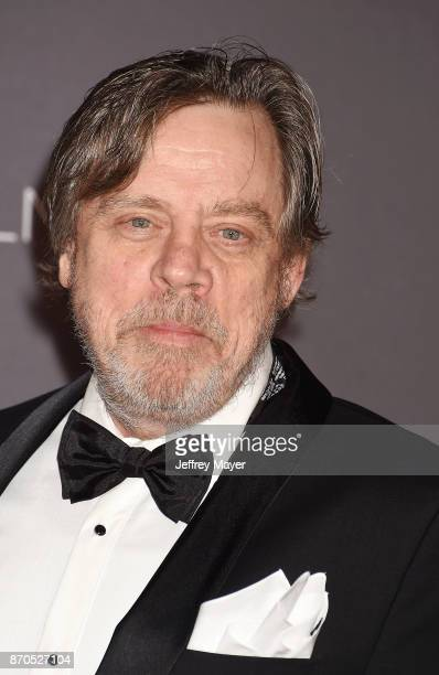 Actor Mark Hamill attends the 2017 LACMA Art Film Gala Honoring Mark Bradford and George Lucas presented by Gucci at LACMA on November 4 2017 in Los...