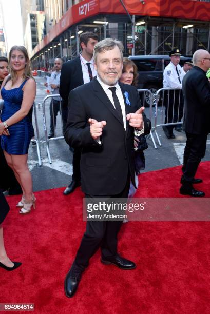 Actor Mark Hamill attends the 2017 Tony Awards at Radio City Music Hall on June 11 2017 in New York City