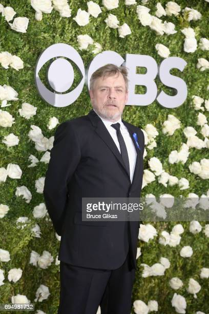 Actor Mark Hamill attends the 71st Annual Tony Awards at Radio City Music Hall on June 11 2017 in New York City