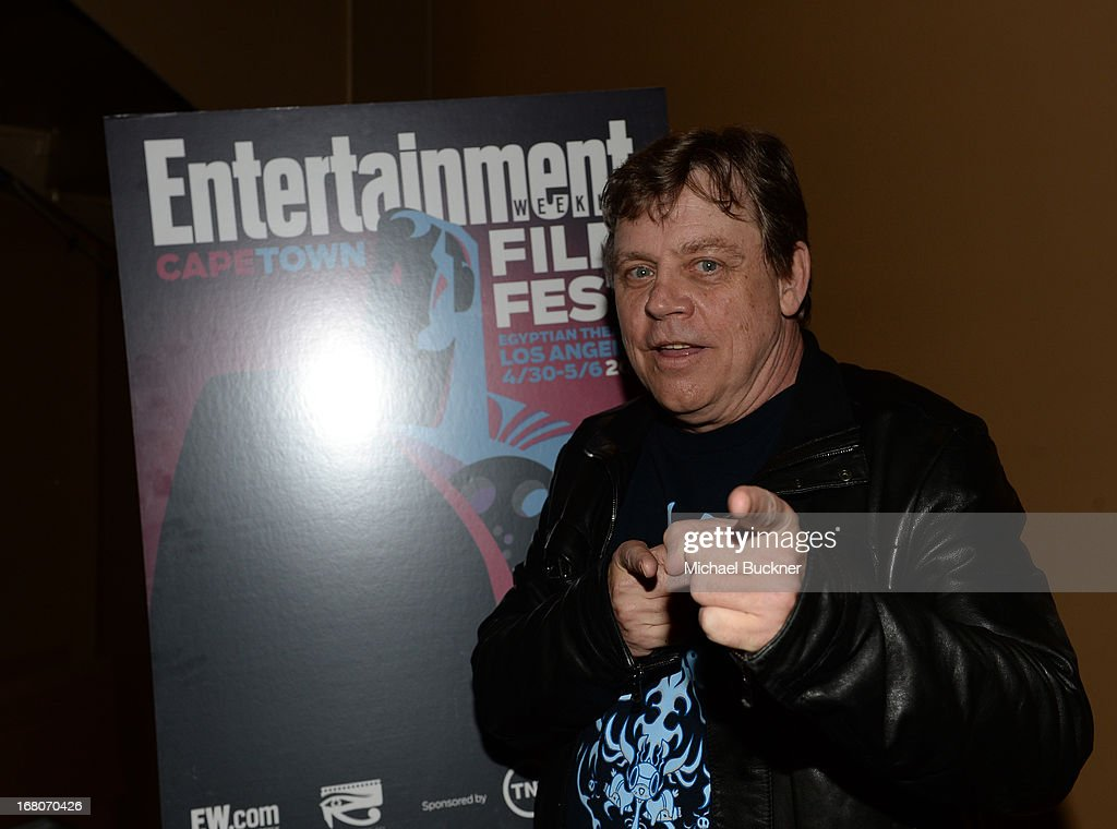 Actor Mark Hamill attends the screening of 'Star Wars Return of the Jedi' during Entertainment Weekly CapeTown Film Festival Presented By The...